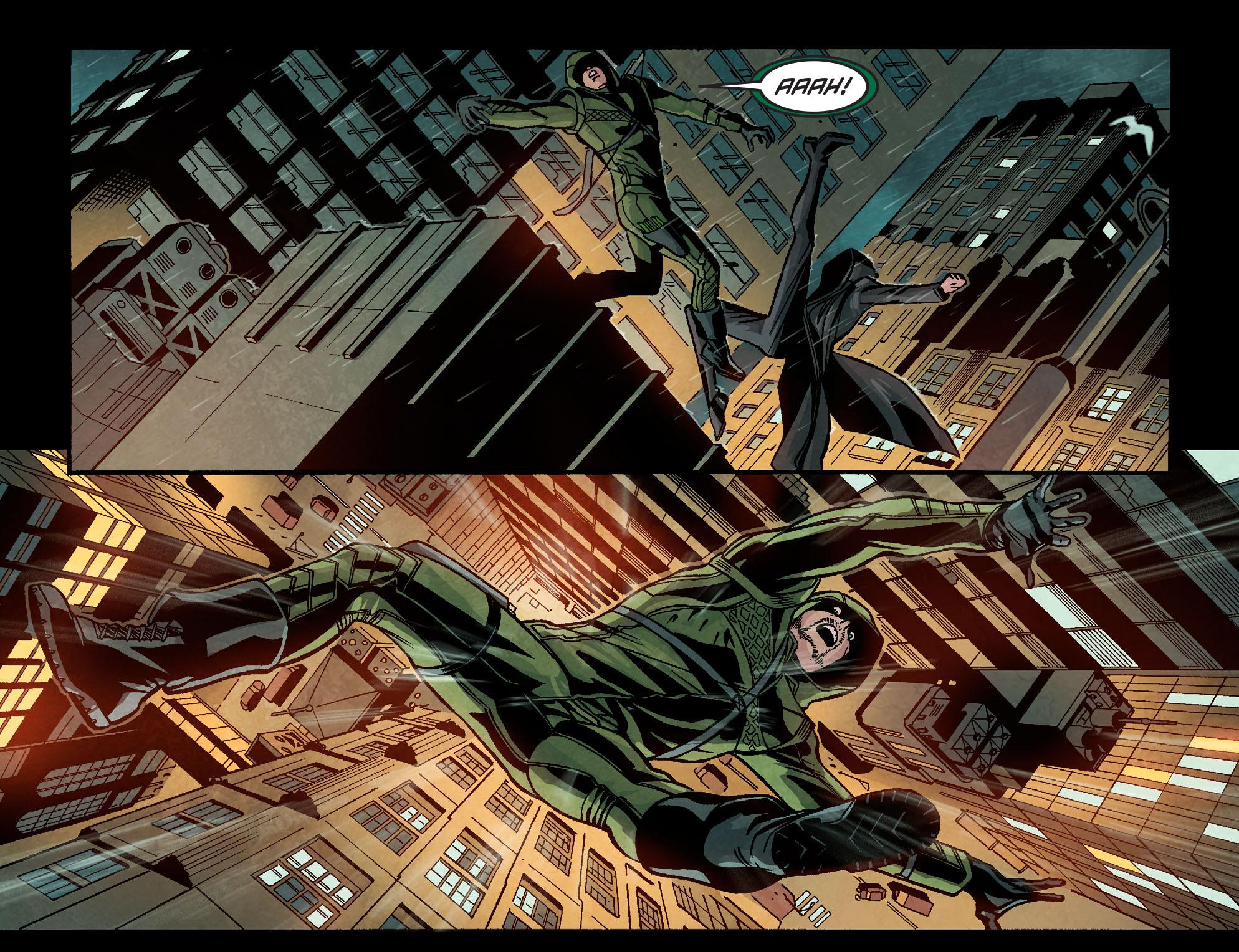 Read online Arrow: Season 2.5 [I] comic -  Issue #9 - 5