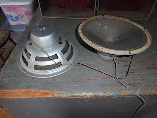 Pair Of GE 1201A Speakers