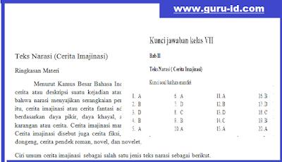 gambar soal hots teks narasi mapel bahasa indonesia