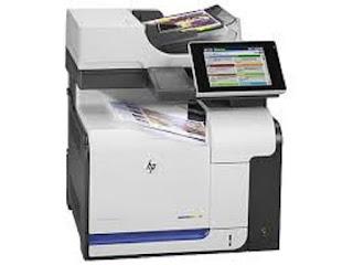 Picture HP LaserJet M575c Printer Driver Download