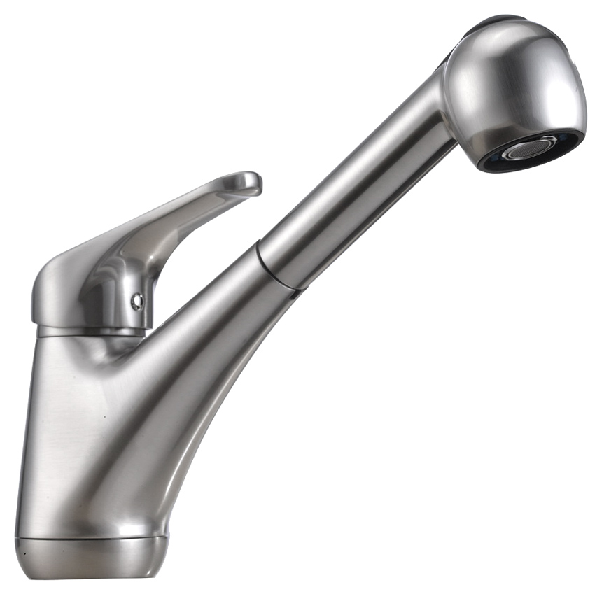 """9"""" Single Handle Pullout Spray Professional Kitchen Faucet"""