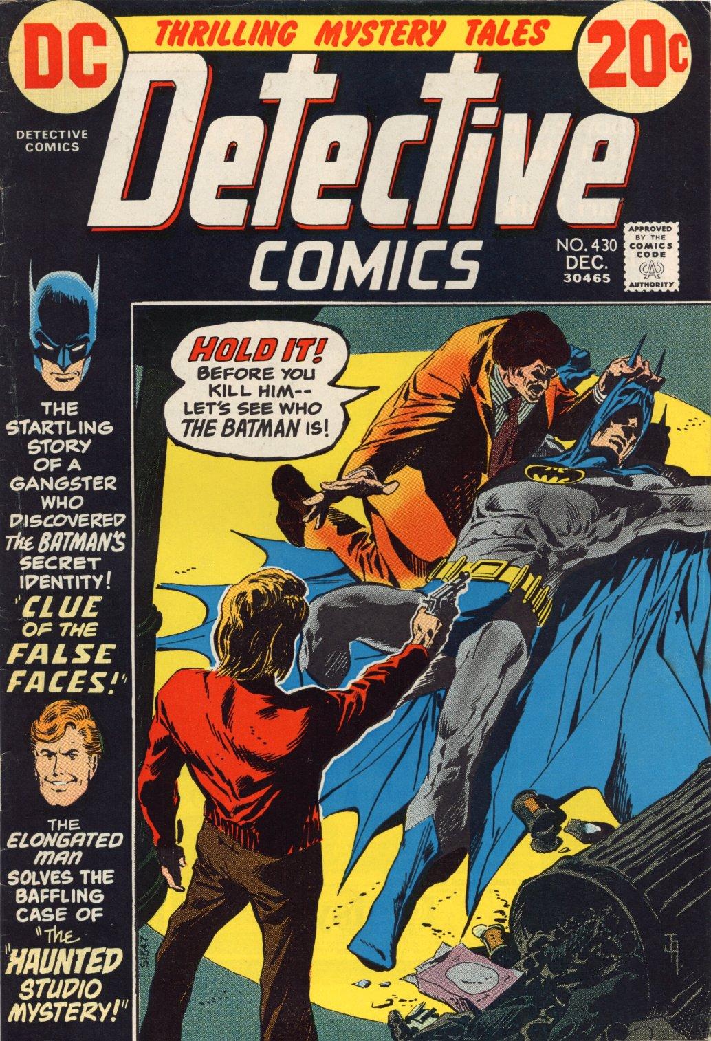 Detective Comics (1937) 430 Page 1