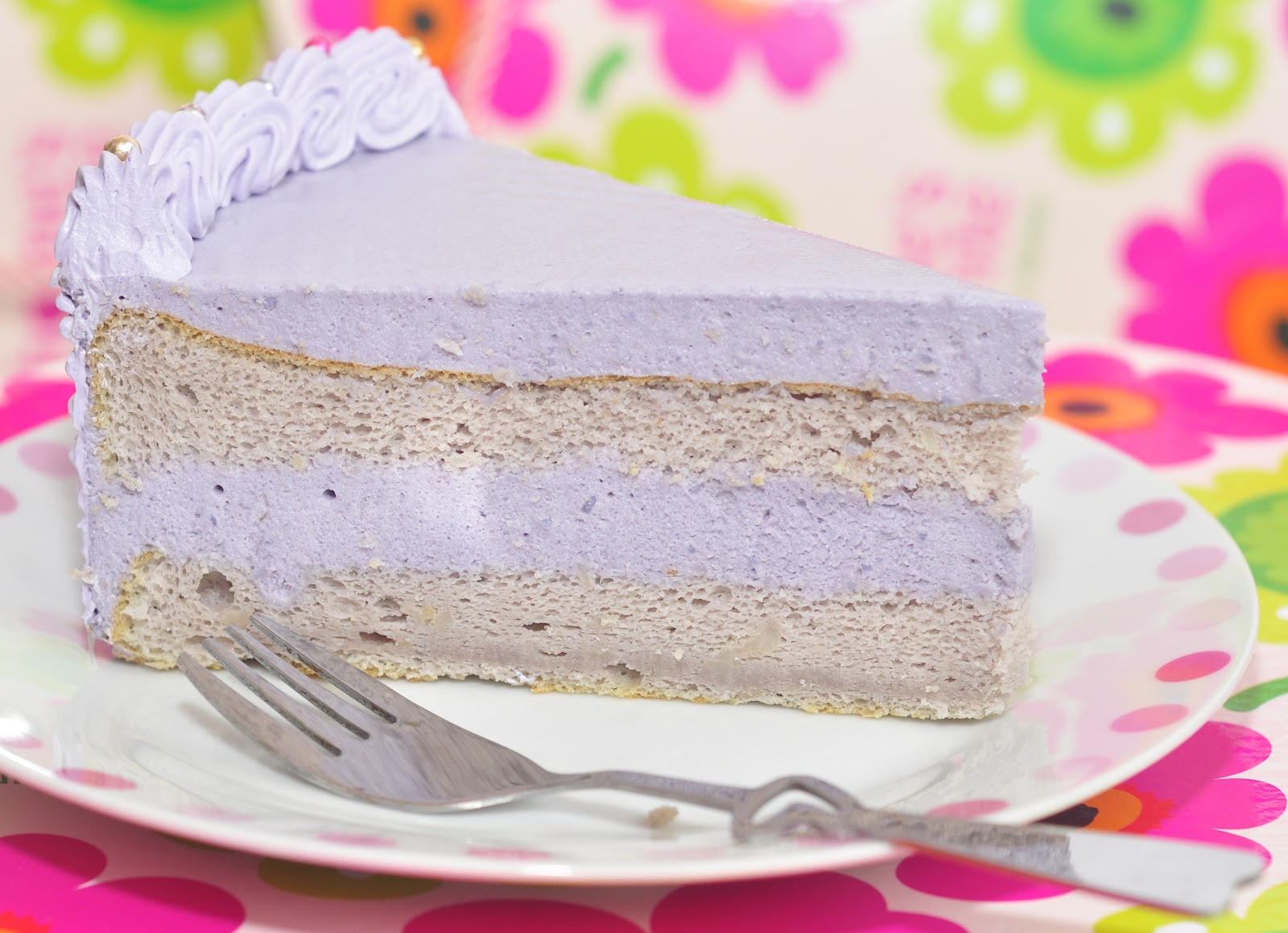 Yam Mousse Cake Recipe