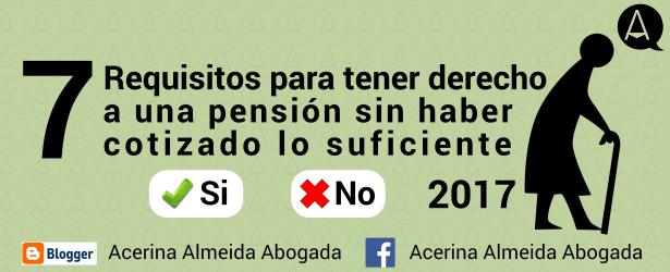 La pensión no contributiva.