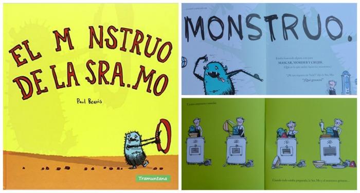 selección cuentos sobre miedo a los monstruos y como superarlo: los monstruos de la sra. MO