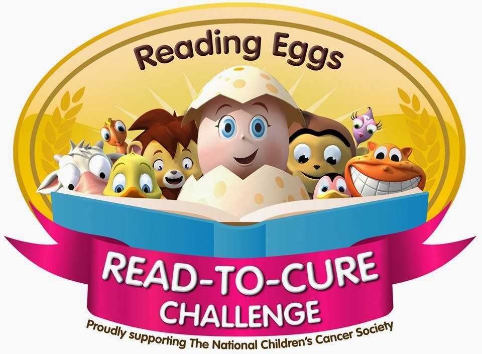 Reading Eggs Review and Read-to-Cure Challenge