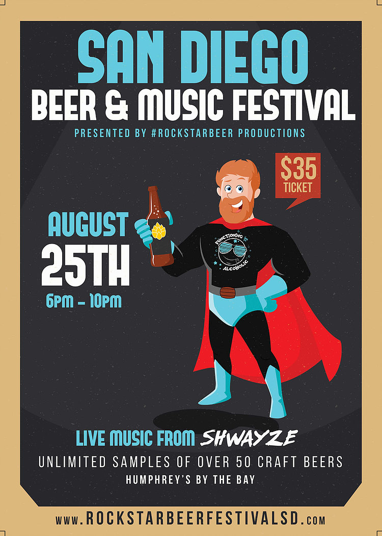 Save On Passes & Enter To Win VIP Tickets To San Diego Rock Star Beer & Music Festival - August 25!