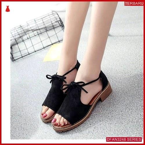 DFAN3248S57 Sepatu Hk 12 Teplek Wanita Pita Flip BMGShop