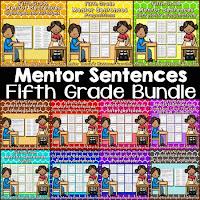 https://www.teacherspayteachers.com/Product/Mentor-Sentences-for-Revising-and-Editing-Fifth-Grade-Bundle-2131695