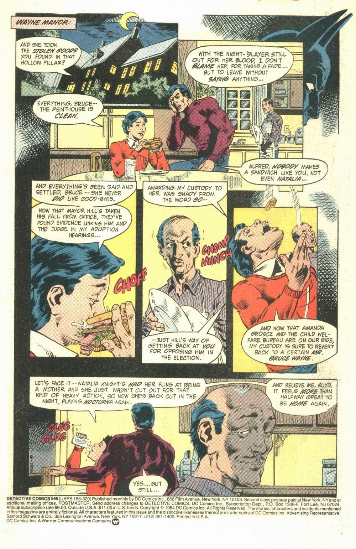 Detective Comics (1937) 548 Page 1