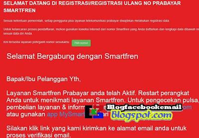 Cara registrasi berhasil kartu smartfren via online