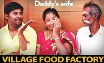 Emotional side of Daddy's life | Village Food Factory Daddy's Arumugam with his family Interview