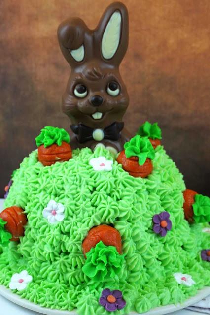 carrot cake madriguera de conejo