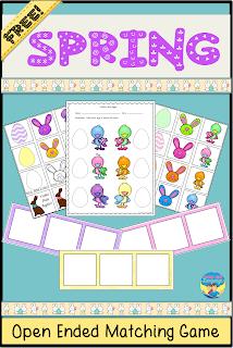 Free printable spring fun from Looks Like Language!