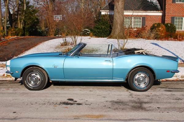 1968 Camaro Convertible For Sale Craigslist - Best Car News 2019
