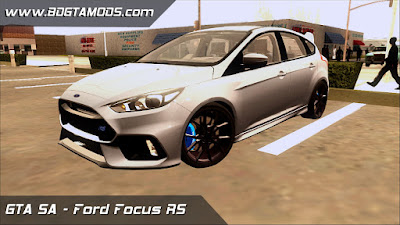 Carro - Ford Focus RS para GTA San Andreas , GTA SA