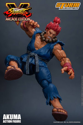 Street Fighter V Arcade Edition Akuma / Gouki Nostalgia Costume de Street Fighter - Storm Collectibles