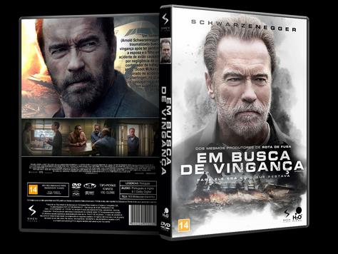 Capa DVD Em Busca de Vingança [Exclusiva]