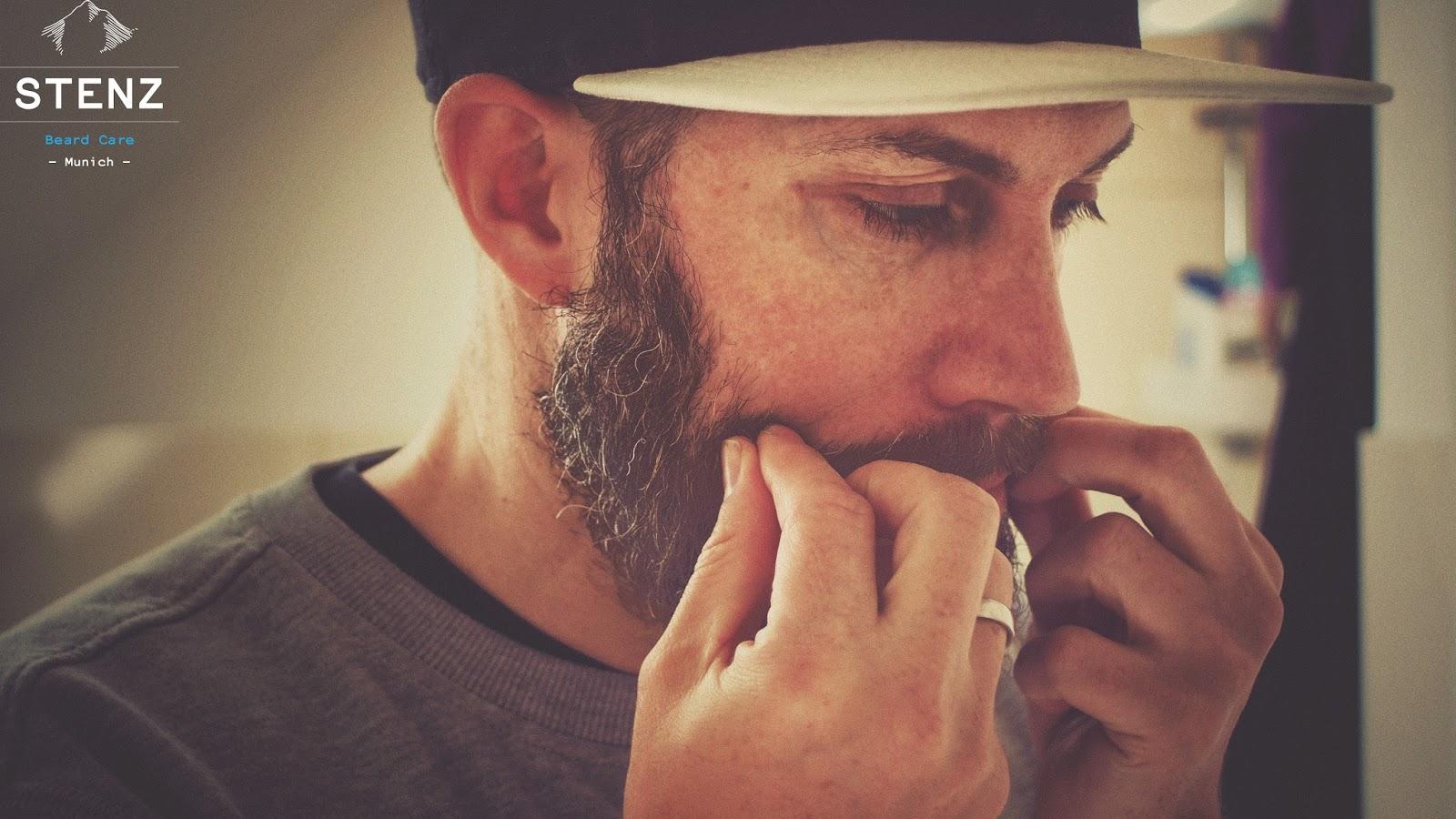 Jens Mahnke vom Atomlabor Blog benutzt STENZ Beard Care aus München