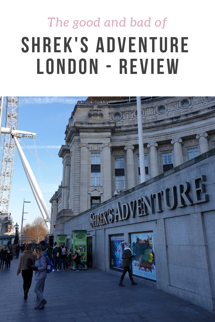 A review of Shrek's Adventure, an immersive experience in Central London - what ages is it good, and can you bring a baby? Also includes review of the How to Train Your Dragon area.
