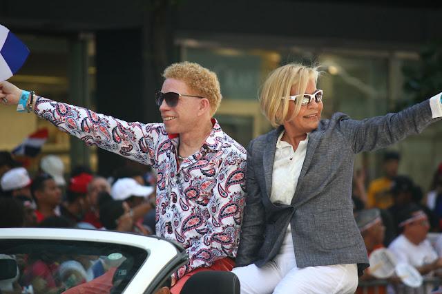 Desfile dominicano de Manhattan, Nueva York 2016 - Alipio Coco Cabrera