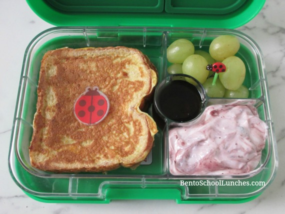 French Toast With Yogurt Breakfast For Lunch