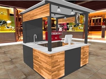 Apuntes revista digital de arquitectura m dulos de venta stands comerciales - Modulos de madera ...