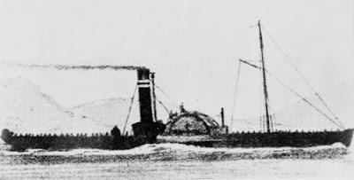 The steamer 'Breadalbane'. (John Oxley Library)