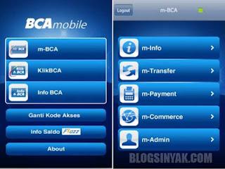 Cara Daftar BCA Mbanking dan Aktivasi BCA Mobile - Blogsinyak