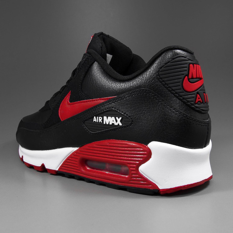 solekitchen nike air max 90 essential black sport red. Black Bedroom Furniture Sets. Home Design Ideas