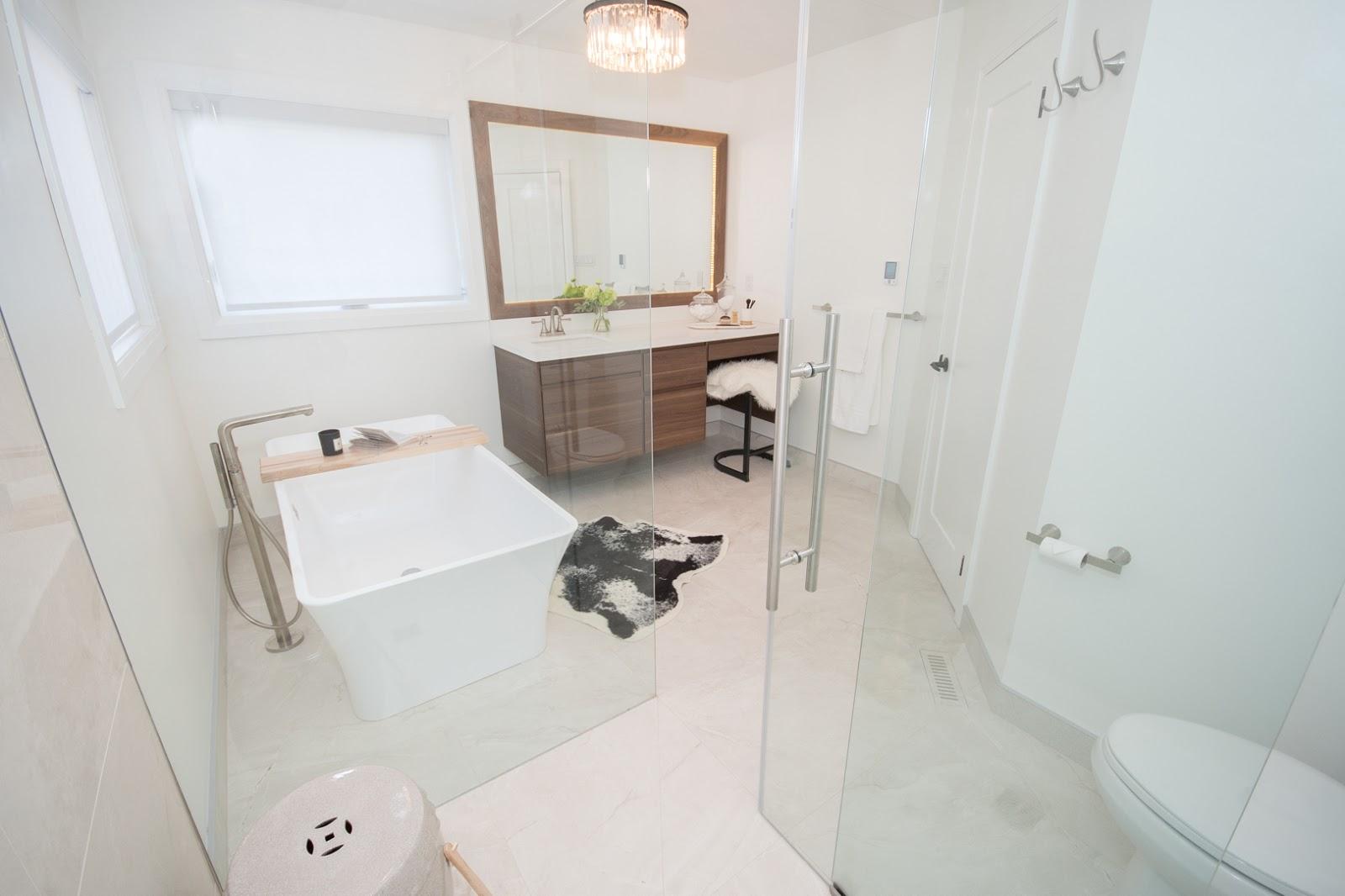 high end bathroom design build