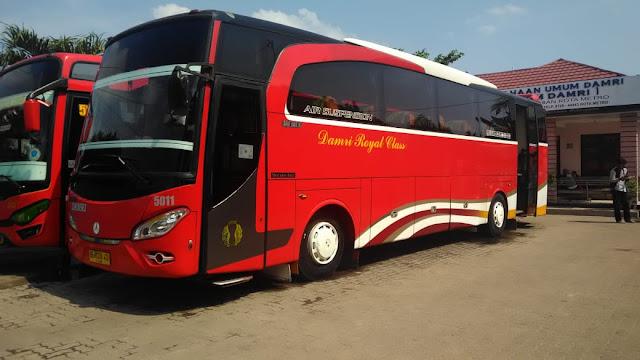 Pool Damri Bekasi Lampung, Harga Tiket, Rute dan Jadwal