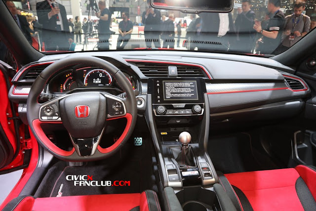 What are Honda Civic 10th Gen Type R - 6 Best Features?