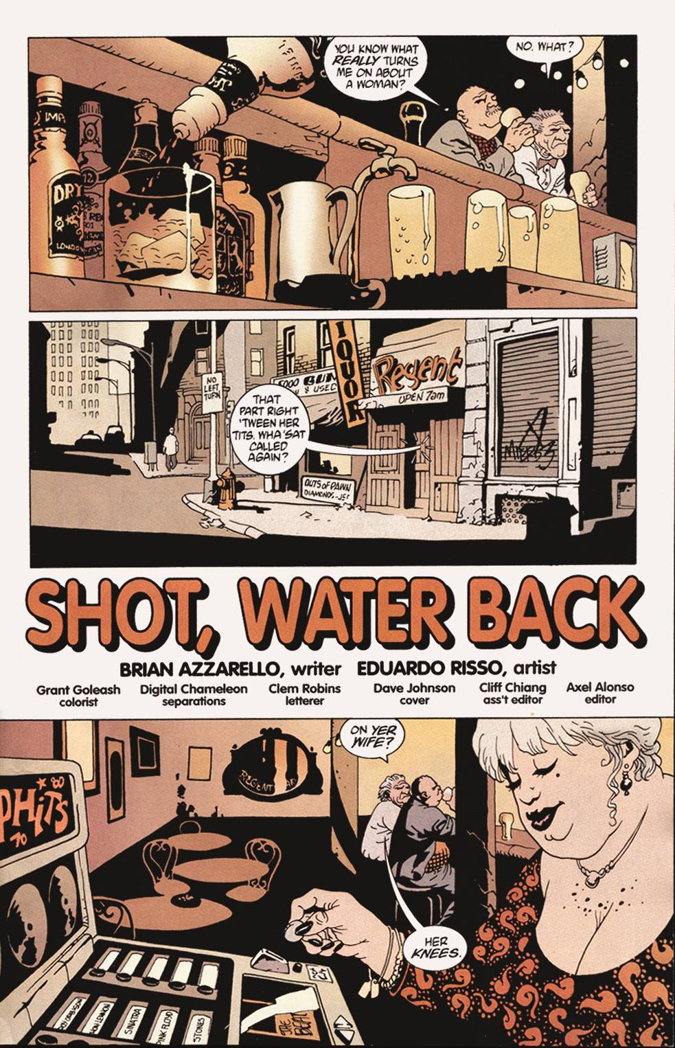 Read online 100 Bullets comic -  Issue #4 - 2