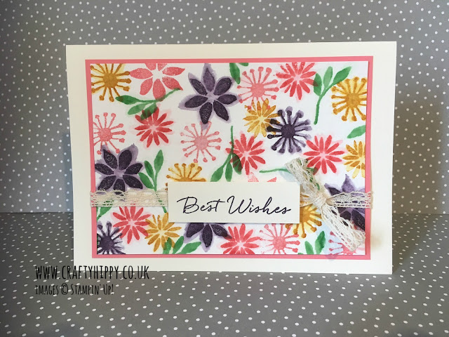 Blooms & Wishes stamp set, Stampin' Up!