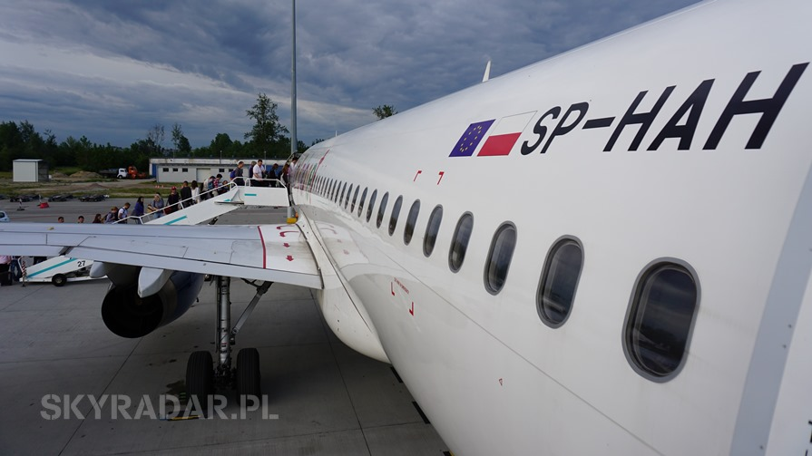 SP-HAH - Airbus A320 - Small Planet