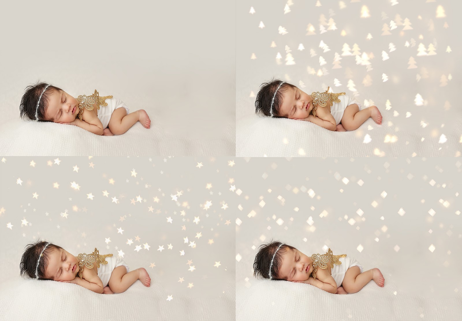 All about Christmas Bokeh Light Overlays - Complete Guide