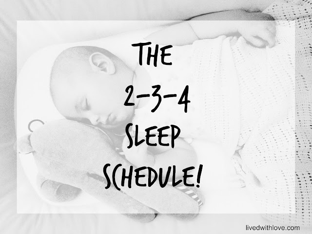 The 2-3-4 sleep schedule!