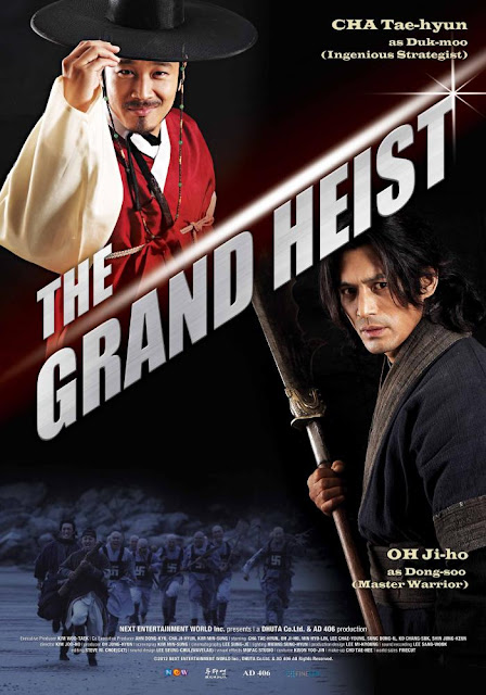 Sinopsis The Grand Heist (2012) - Film Korea