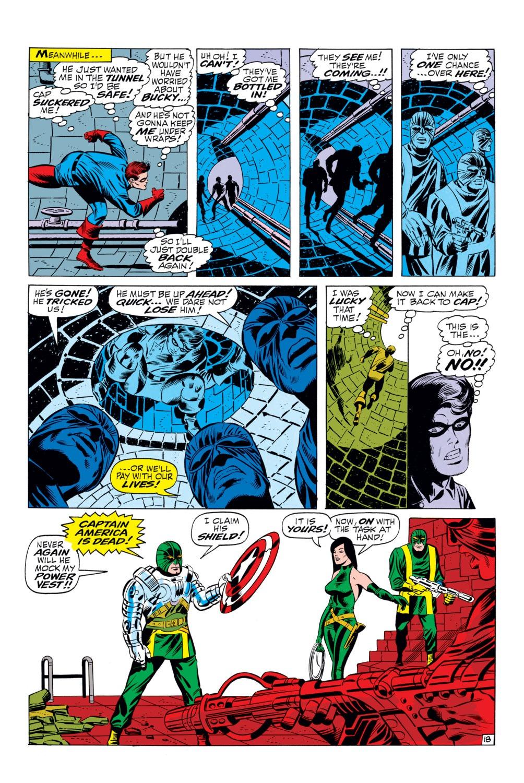 Read online Captain America (1968) comic -  Issue #110 - 18