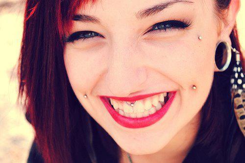 55 Elegant Microdermal Piercing Ideas - All You Need to Know  |Cheek Microdermal Piercing
