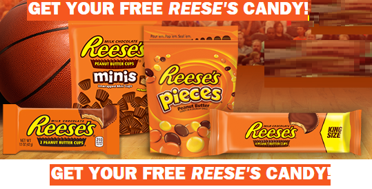 FREE Reeses Product Mailed Cou...