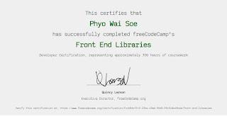 Freecodecamp Responsive Web Design Certificate