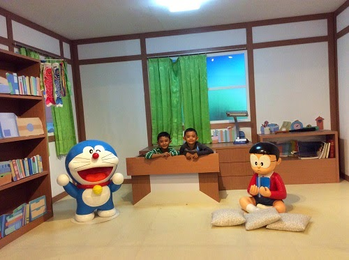 Bertemu Doraemon dan Nobita