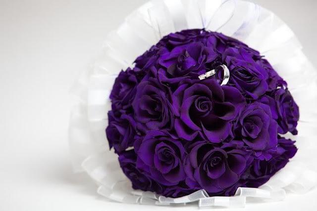 bó hoa hồng tím đẹp nhất thế giới 3