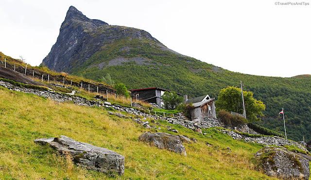 Randonnée Vesterasfjellet, Geiranger, Norvège du sud