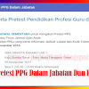 Jadwal Pretest PPG Dalam Jabatan Dan Postest PKB