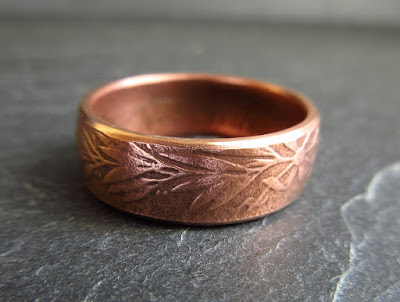 bronze coin ring © cinnamon jewellery 2016