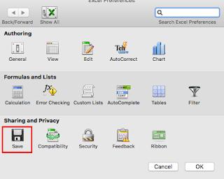 mac word için otomatik kaydetme ayarı