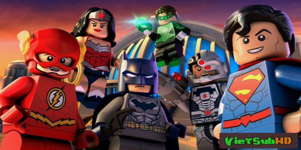 Phim Liên minh công lý LEGO: Cuộc chạm trán vũ trụ VietSub HD | Lego DC Comics Super Heroes: Justice League - Cosmic Clash 2016